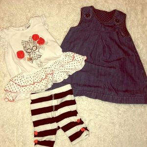 Other - Girls dress and matching set